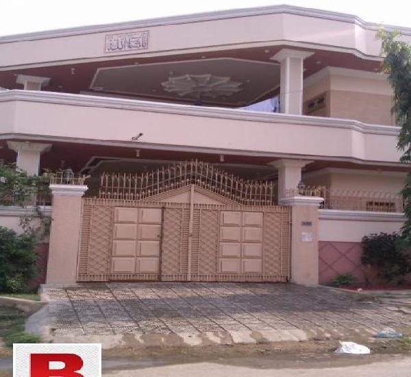Vip banglow portion 400 sq yds ground floor in pia society