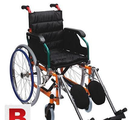 Wheel chair power coated steel frame ac-35