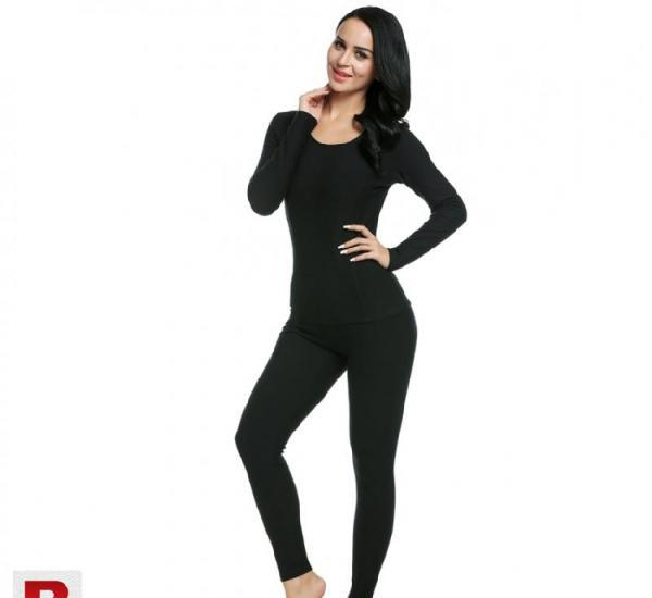 Winter thermal inner-wear suit for women