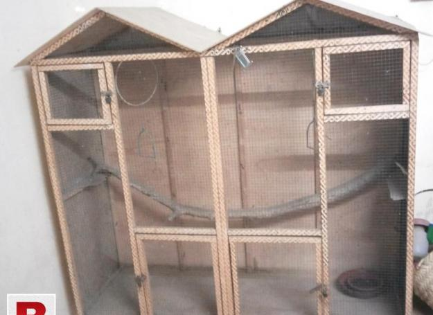 Wooden cage large size for all kinds of birds