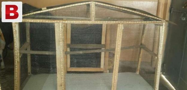 Wooden unused cage