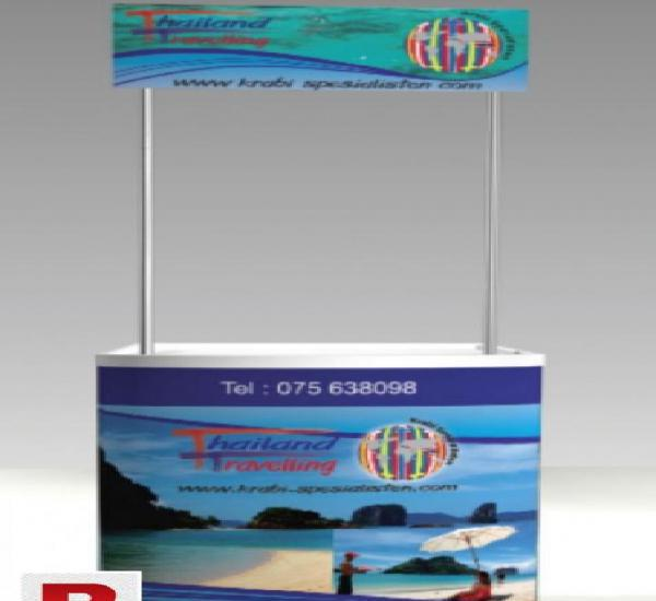X-stands, roll-up exhibition & promotion items