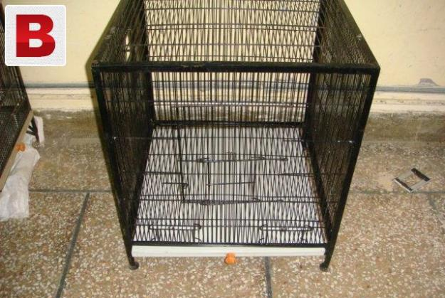 Spot welding cage with tray size 2 x 2 x2