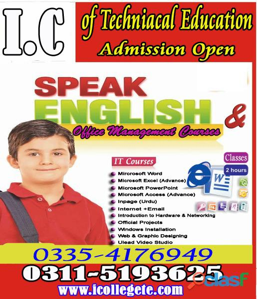 Spoken English course in Rawalpindi