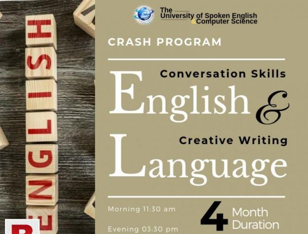 Conversation skills & creative writing