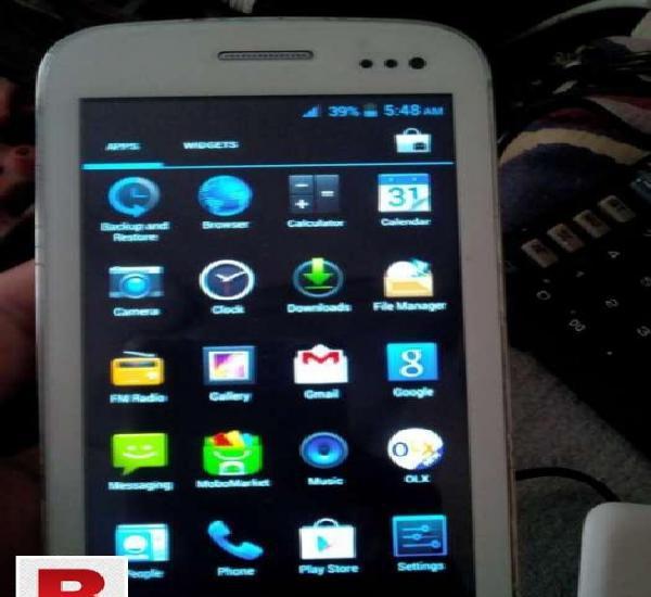 Q mobile a10 good condition