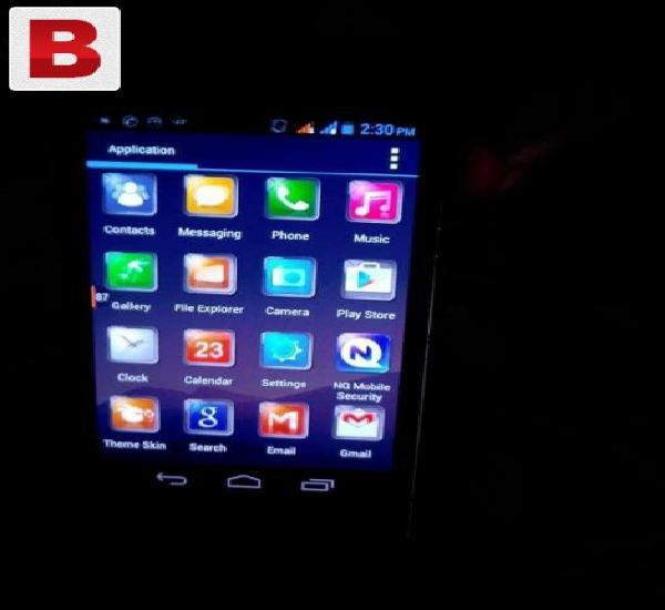 Q mobile a12 mint condition