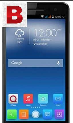 Q mobile full wranty 16 gb & 2 gb