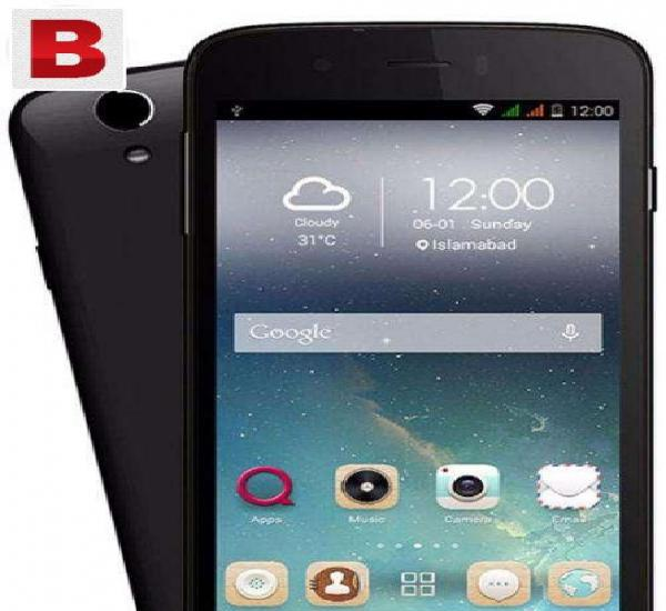 Q mobile i10 with full box in warranty