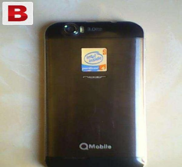 Qmobile noir a75 3g with warranty 3 months