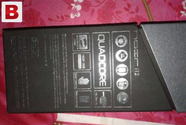 Qmobile i12 awesome condition 3 back pouch and flip cover.1