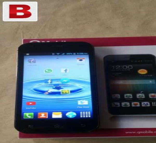 Qmobile noir a75 in good condition for sale/exchange