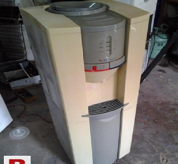 Sg water dispenser water cooler with fridge used good