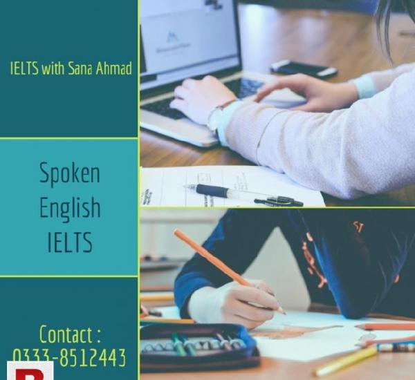 Spoken English & IELTS