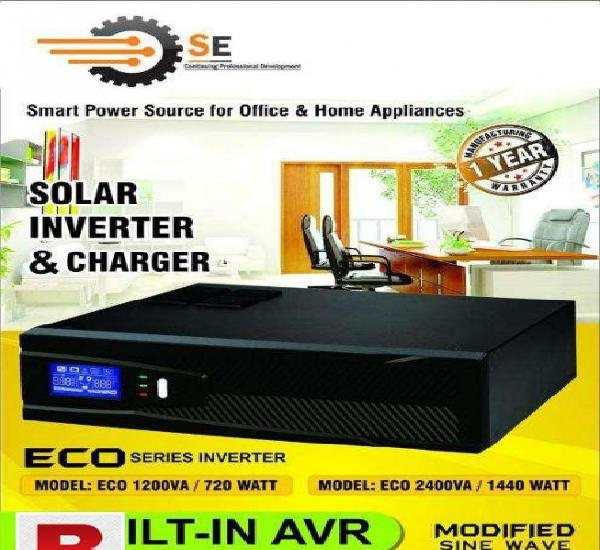 Dc to ac solar power inverter