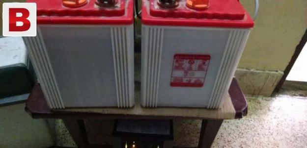 New batteries...
