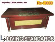 Office table 1.8 meter imported (living standards),