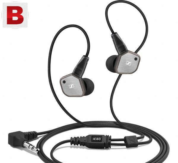 Sennheiser ie 80 earphones, with superb sound quality (brand