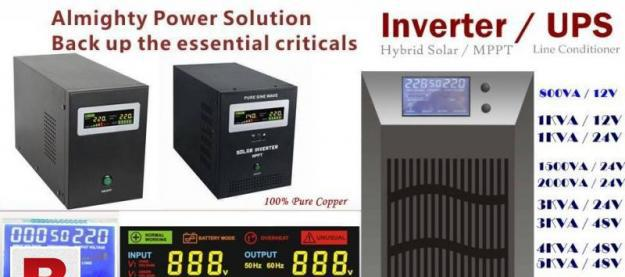 Ups inverter pure copper assembled in pakistan