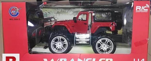Wrangler r/c jeep
