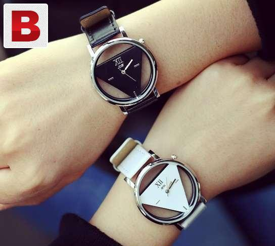 2015 made unisex genuine triangle fashion watch