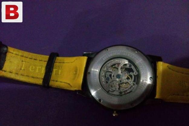 Automatic ferrari watch used