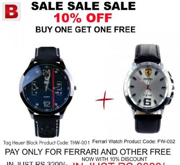 Buy one watch and get one free