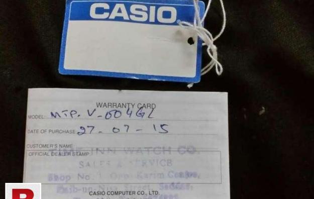 Casio original new brand watch