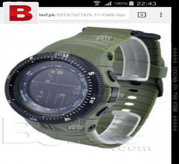 Men's watch 5.11 black,green