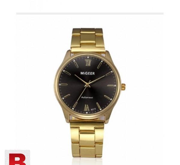 Quartz wristwatches reloj hombre fashion casual stainless