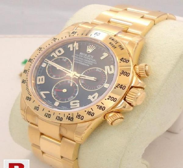 Rolex daytona 18k yellow gold ref# 116528