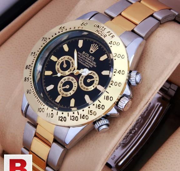 Rolex cosmagraph two tone daytona black