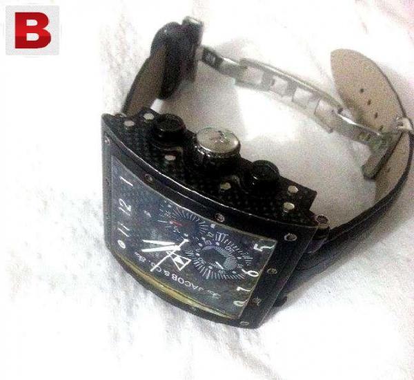Swiss made jacob & co. chronograph jc-v2q5