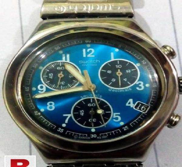 Swatch chronograph watch