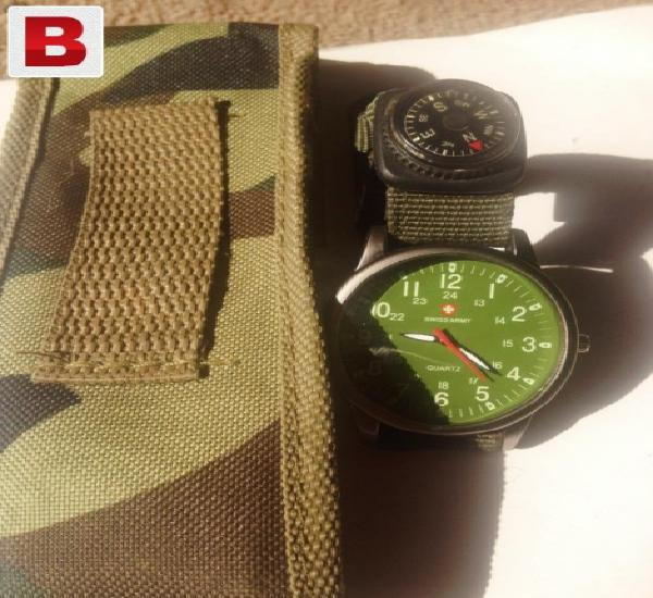 Swiss watch excellent condition with long lasting strap plus