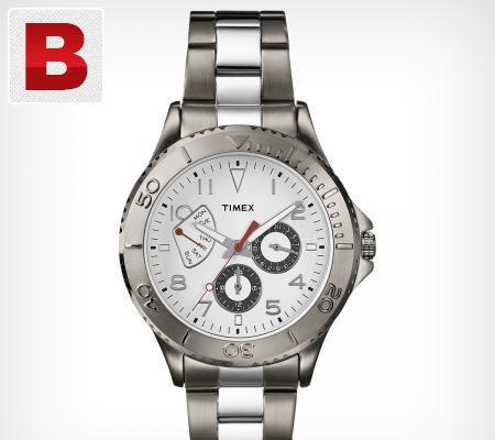Timex retrograde subdial