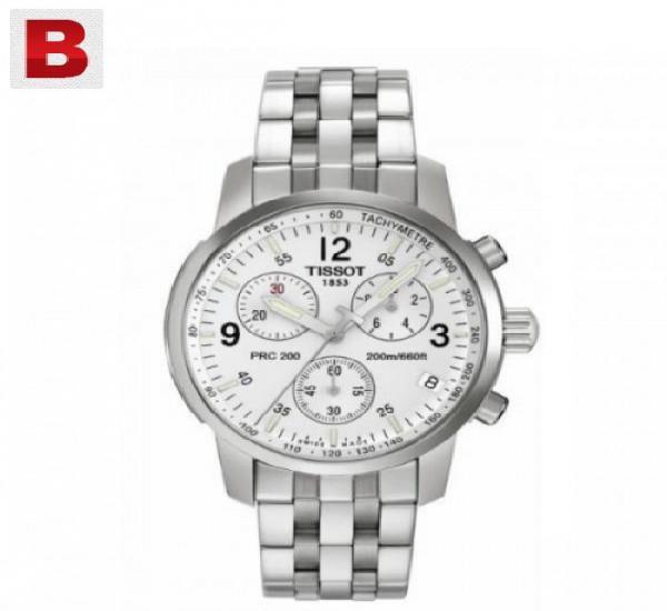 Tissot t-sport prc200 chronograph white.