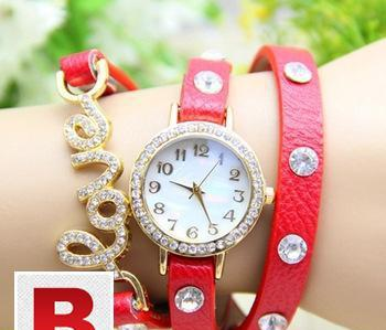 new fashion wrap around bracelet watch,
