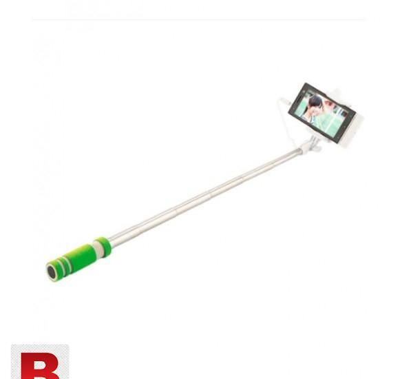 Mini extendable handheld selfie stick