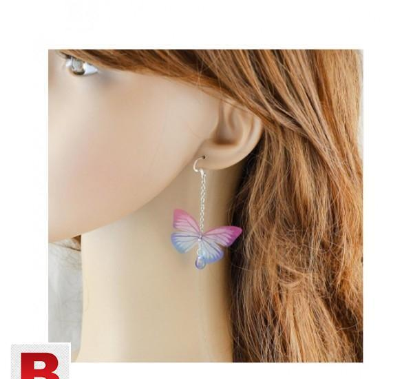 New style trendy shape silver color chain hotpink blue pink