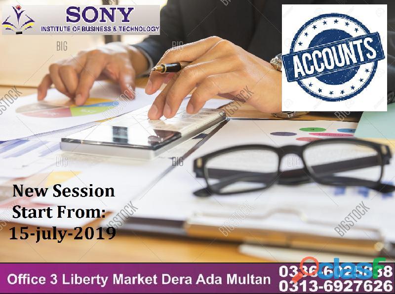 Account courses in multan