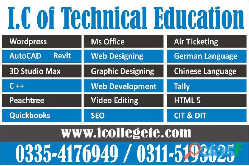 Autodesk Civil 3d Course in Chakwal Peshawar ICTE 2