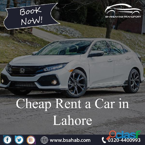 Cheap Rent a car By Bsahab