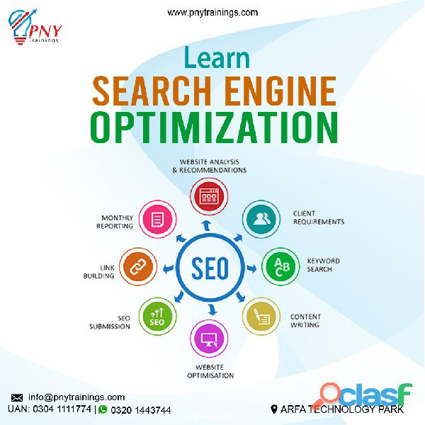 Learn seo services and aso course in lahore pakistan 2019