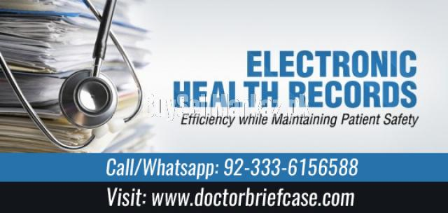 Electronic Health Record For Doctor Briefcase