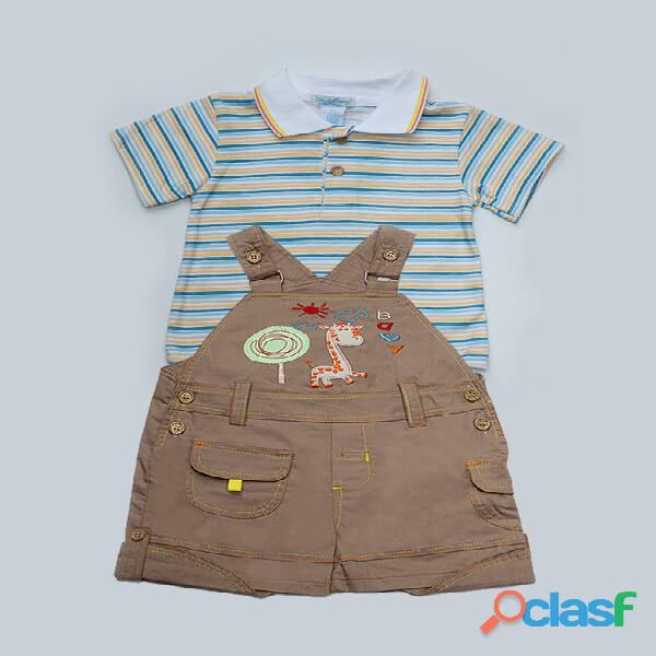 Uh Kidz Baby Romper Suit   Light Brown