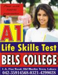 A1 Life Skills English Test pass with guarantee, Lahore