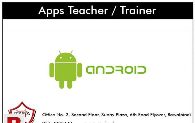 Android apps teacher / trainer required