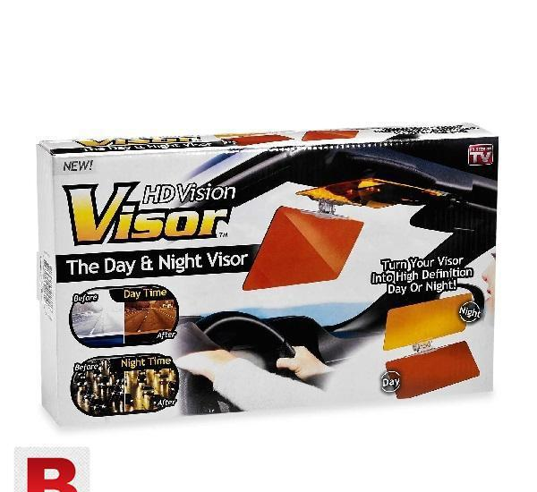 Hd vision visor the day and night visor for safer driving