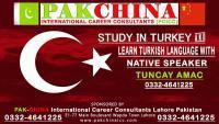 TURKISH LANGUAGE CLASSES/COURSE/TRAINING/CENTER IN LAHORE,